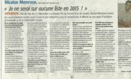 Le maire de Sainte-Luce, Nicaise Monrose pris en flagrant délit de mensonge... Et cela ne fait que commencer…