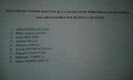 Conseil exécutif de la Collectivité Territoriale de Martinique