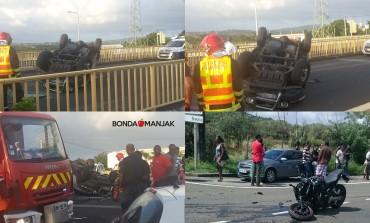 Accidents de la route : l'année démarre sur les chapeaux de roues en Martinique