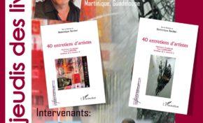 Dominique Berthet invité de « Jeudi-Livre » de la Faculté des Lettres de Martinique