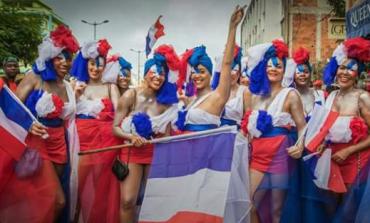 La photo symbole du carnaval 2016 en Martinique
