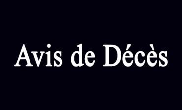 28 morts dans les avis d'obsèques ce jour en Martinique