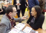 Vif succès de Mérine Ceco au Salon du Livre de Paris