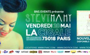Stevy Mahy à la Cigale (Paris)