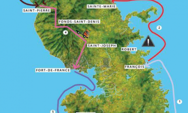 Les étapes du Tour de la Martinique des Yoles rondes 2016