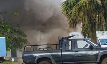 Incendie à Datex en Martinique