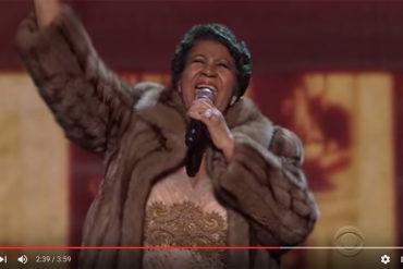 Aretha Franklin casse le Barack, il pleure... (vidéo)