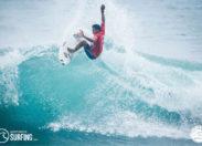 Une étape du championnat du monde de surf en Martinique