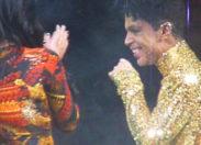 Ce moment où Prince vire Kim Kardashian de la scène !! (video)