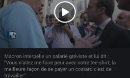 La phrase du jour  [28/05/16] Macron