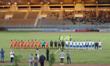 Football : Martinique 2 - 0 Guadeloupe