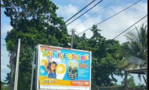 En Guadeloupe Carrefour tel un pédophile viole la Loi Evin