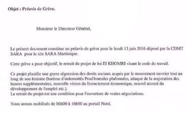 Grève à la SARA en Martinique : on vous avait averti