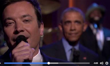 Le bilan Obama chanté en Slow Jam The News (vidéo baby)