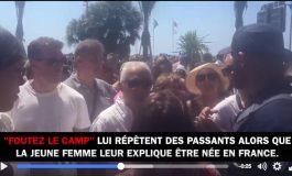 Altercation raciste pendant la minute de silence... Video Not so Nice.