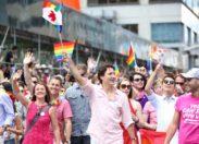 Trudeau, premier ministre, dans la Gay Pride.