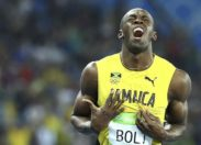 JO : Les plus belles photos d'Usain Bolt. (Photos)