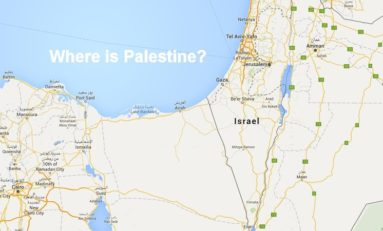 Google Maps supprime la Palestine de la carte...