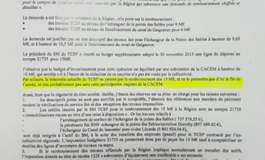 Martinique : la Chambre Régionale des Comptes nous aurait donc menti comme Serge Letchimy ?