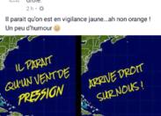 La Martinique est en vigilance orange et...Lorraine m'a tuer