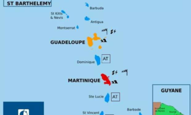 Passage de Matthew : la Martinique en vigilance rouge