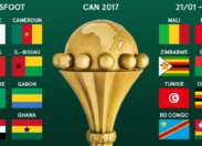 CAN 2017: les 16 qualifiés