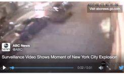 New-York, l'explosion filmée (vidéos)