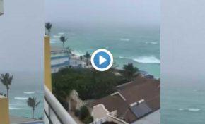 Matthew à la Barbade (vidéo)