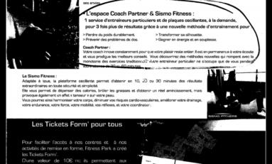 PUBLICITE MENSONGERE ….ou … ARNAQUE A FITNESS PARK GALLERIA