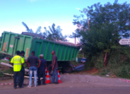 Voilà le septième camion accidenté en Martinique