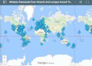 Les codes Wifi des aéroports dans le monde !