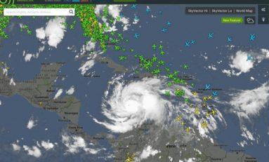 Matthew fait la loi dans le ciel de la Caraïbe