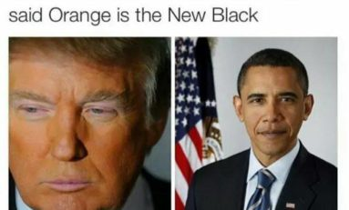 Orange is the new black ?