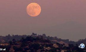 La super Lune (vidéo)