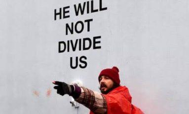 Shia LaBeouf arrêté à New York pendant un live anti-Trump