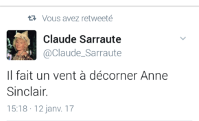 Le tweet du jour [12/01/17] Sarraute