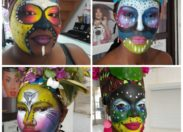 Carnaval Make Up In Guadeloupe