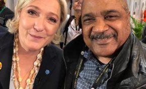 Le selfie de l'anée -Marine Le Pen/Alex Uri
