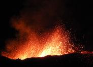 Eruption du piton de la Fournaise - île de La Réunion- Jeudi 02 février 2017