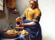 """Deux expositions  dédiées à  la peinture hollandaise, dès  aujourd'hui, au Louvre à Paris : """"Les Chefs-d'œuvre de la Collection Leiden"""", avec plusieurs Rembrandt, jamais exposés et """"Vermeer et les maîtres de la peinture de genre""""."""