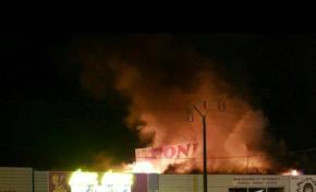 Énième  incendie  à la zone des Mangles en Martinique