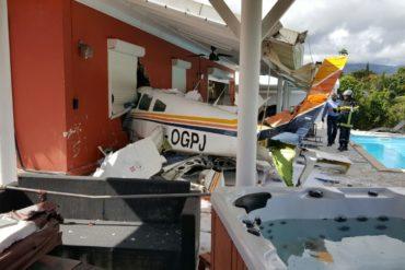 Crash d'un avion de tourisme en Guadeloupe