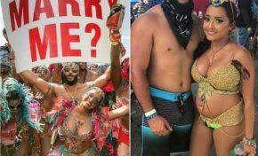 L'an dernier il la demande en mariage... et cette année ...