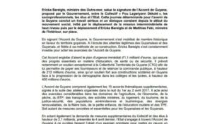 Crise en Guyane : la fin d'un torride coït entre x et y