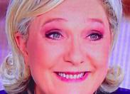 """Marine Le Pen bat son record au Prêcheur  la commune de Marcellin """"Esta termi"""" Nadeau"""