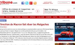 Emmanuel Macron à peine élu et déjà sex symbol...