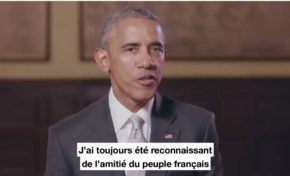Barack Obama soutient Emmanuel Macron (vidéo)