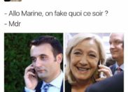 We want to Fake you...Le Pen