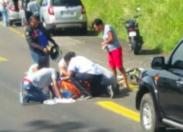 Un cycliste renversé au niveau de Génipa en Martinique
