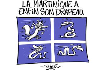 L'image du jour 03/07/17 - Drapeau Martinique by Gabourg